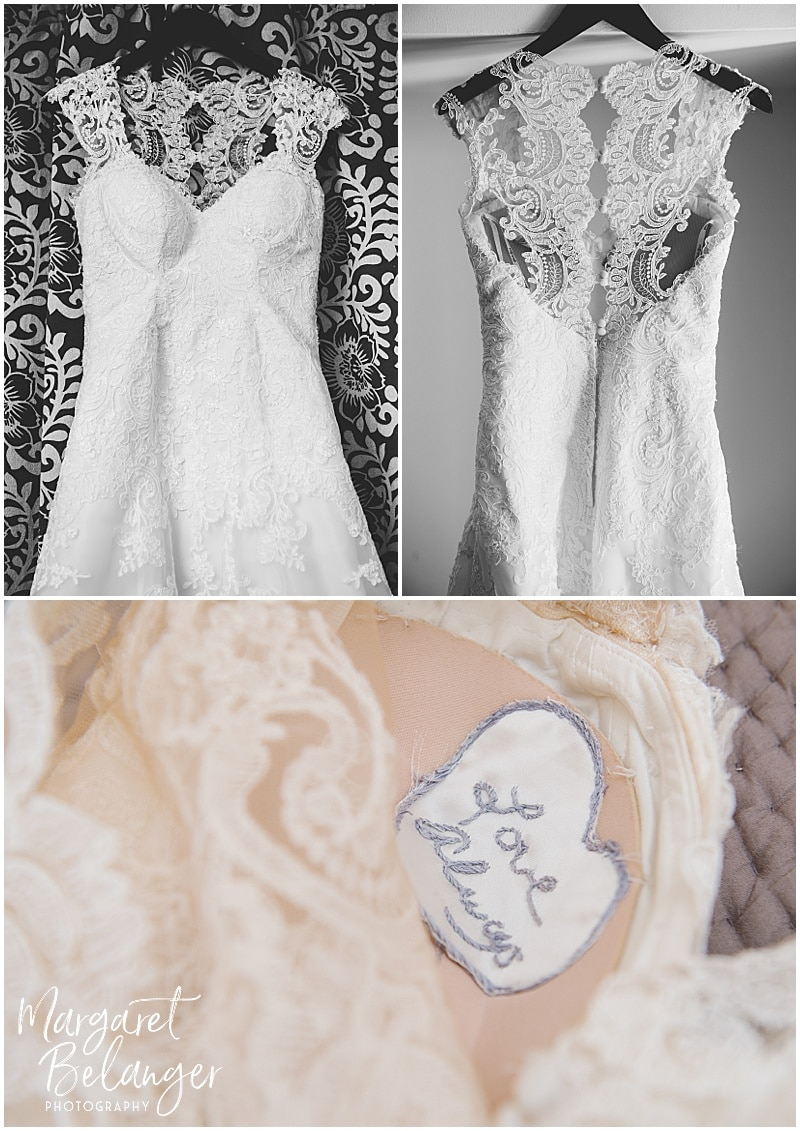 Wedding Dress Details, Bittersweet Farm
