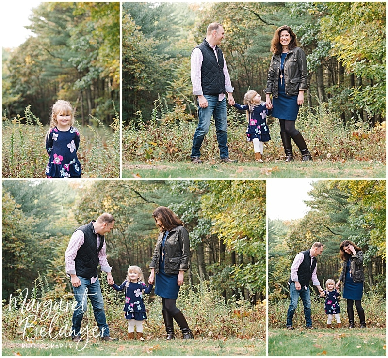 Bradley Estate fall family session, Canton