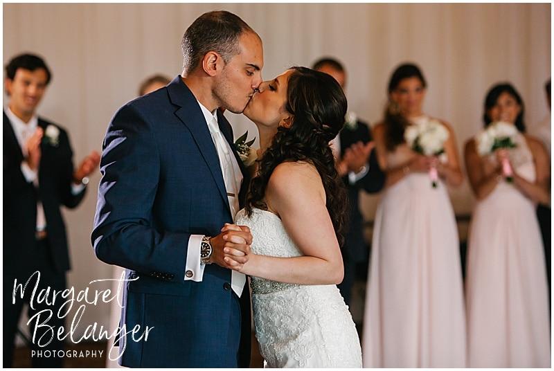 Kirkbrae Country Club wedding reception, first dance