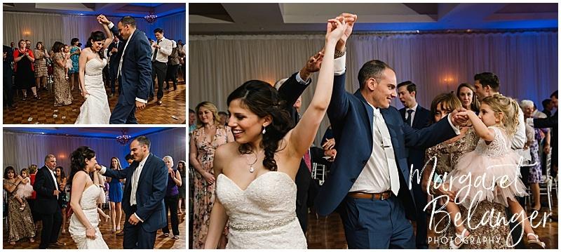 Kirkbrae Country Club wedding reception, dancing