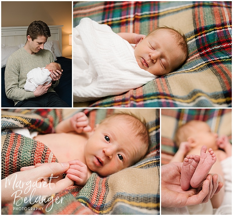 Portraits from a New Hampshire newborn session