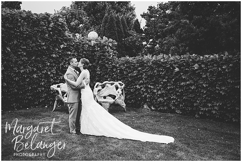 Belle Mer Newport wedding, first look