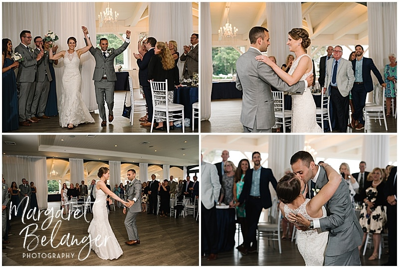 Belle Mer Newport wedding, first dance
