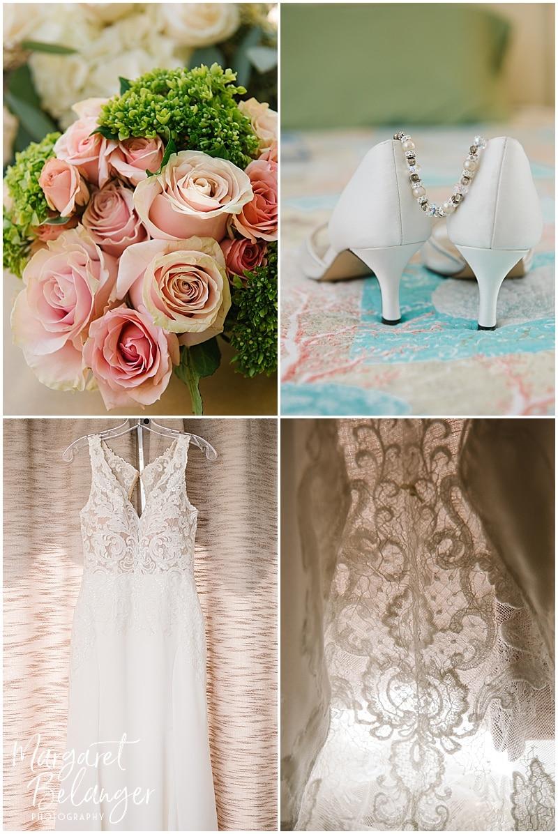New Seabury Country Club wedding, bridal details