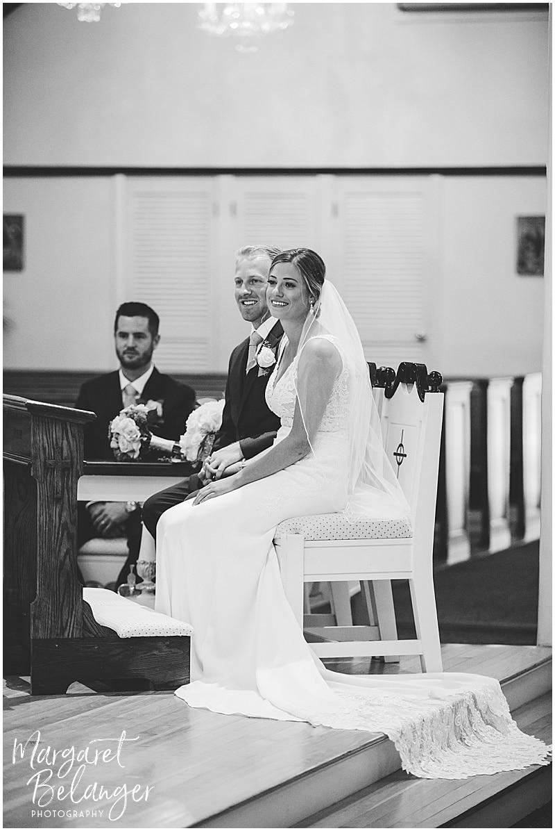 New Seabury Country Club wedding, church wedding ceremony