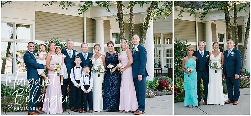 New Seabury Country Club wedding, family portraits