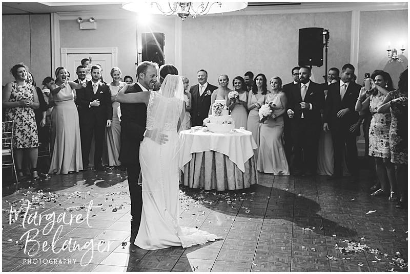 New Seabury Country Club wedding, first dance