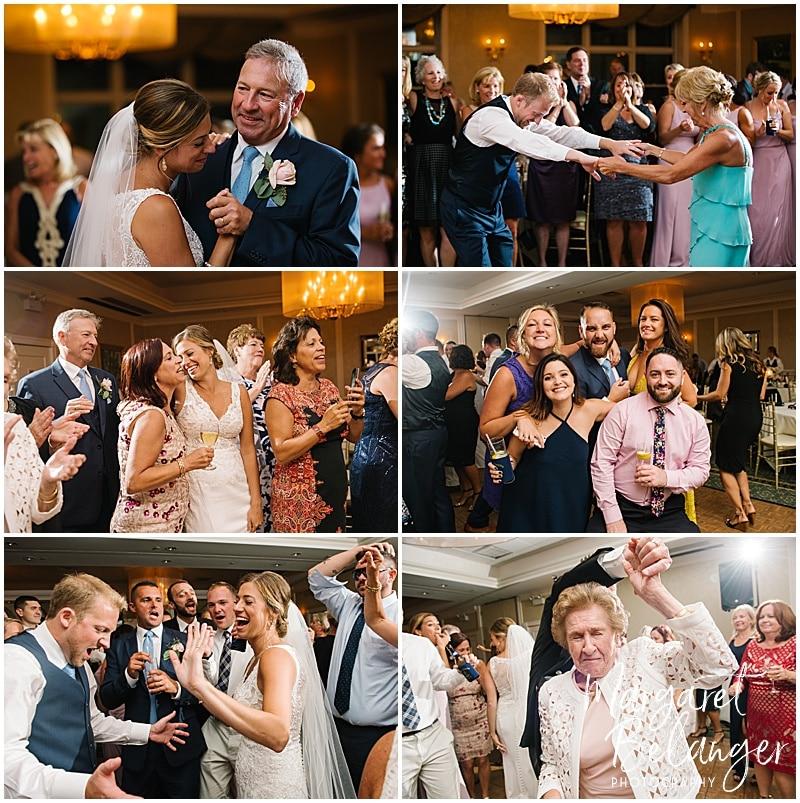 New Seabury Country Club wedding, wedding reception dancing