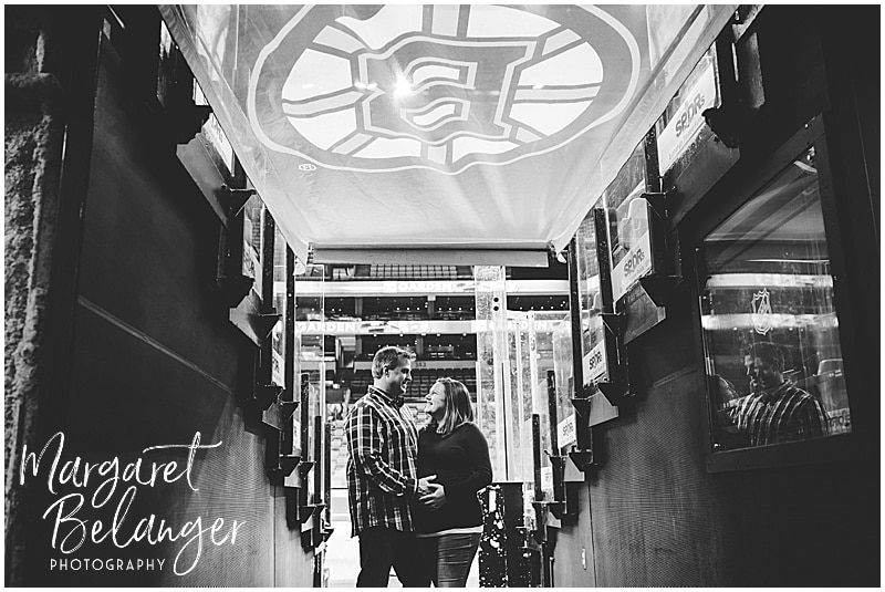 TD Garden Boston Bruins maternity session