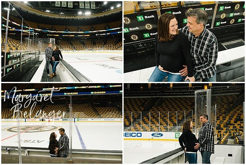 TD Garden Boston Bruins maternity session