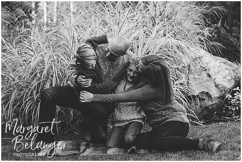Central MA family session, family portrait