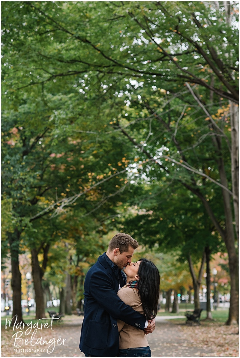 Back Bay engagement session