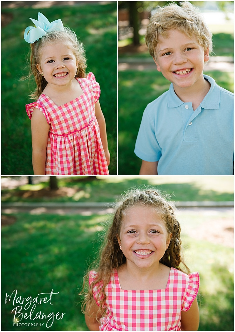 Family session along the Charles River in Cambridge