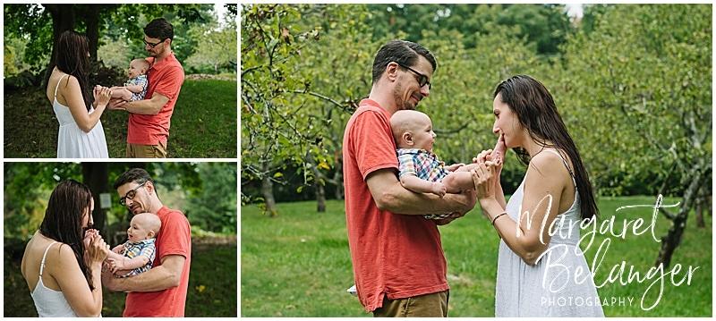 Lexington Upper Vine Brook family session