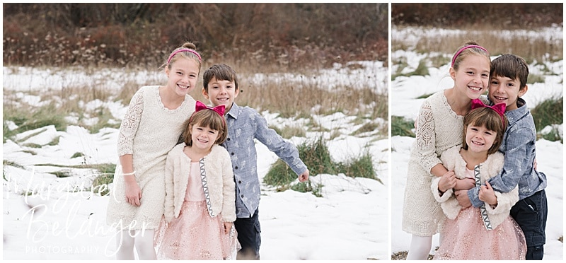 Minute Man National Park winter family session