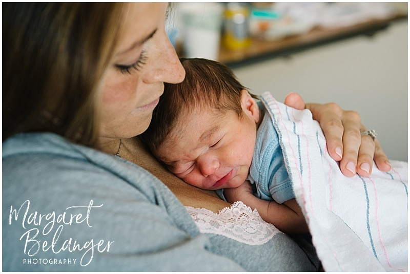 Brigham and Women's Hospital Fresh 48 newborn session
