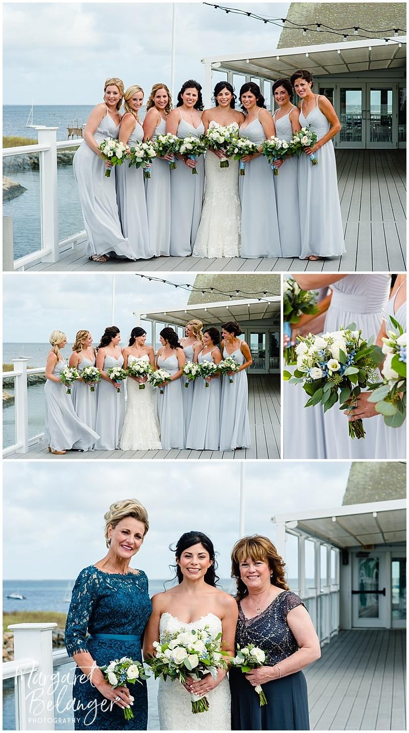 Wychmere Beach Club Cape Cod Wedding, bridesmaids