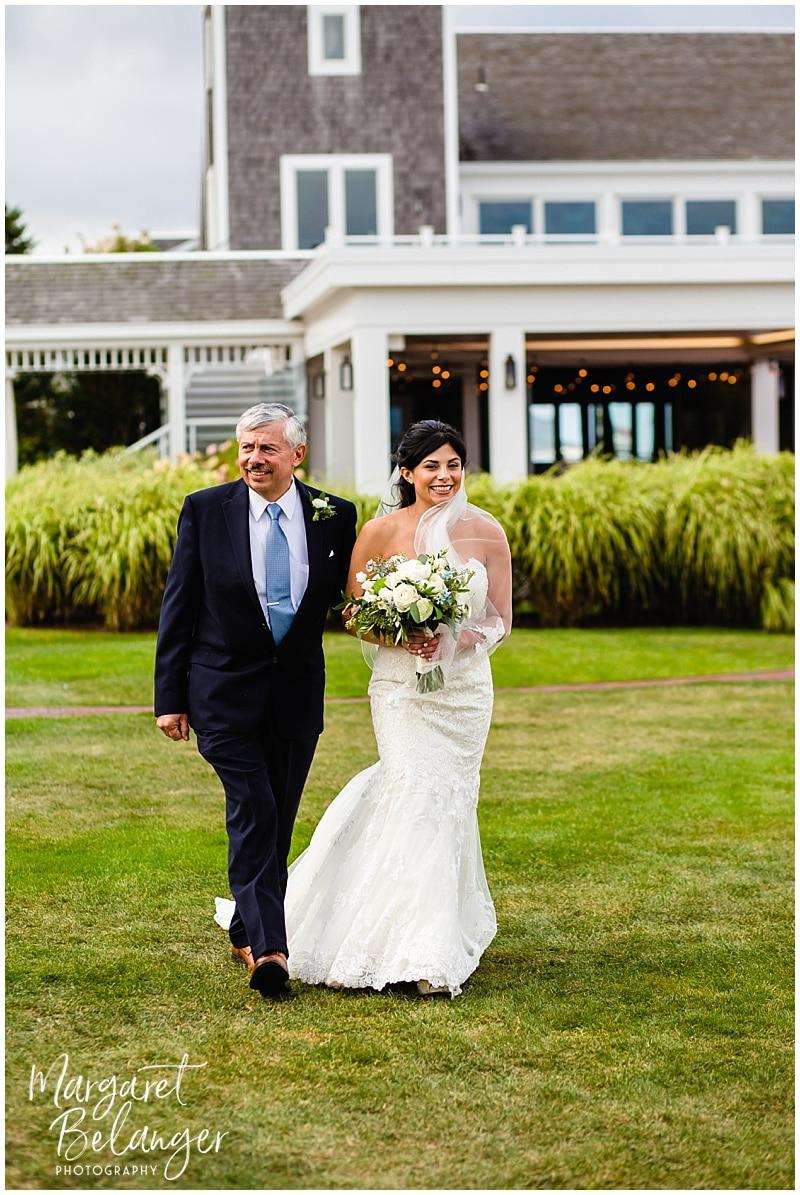 Wychmere Beach Club Cape Cod Wedding ceremony