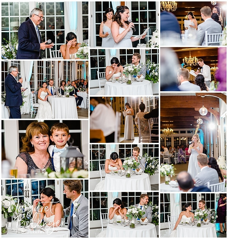 Wedding Toasts at the Wychmere Beach Club on Cape Cod