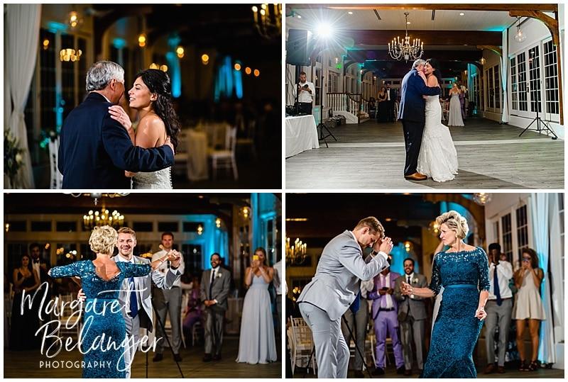 Parent Dances at a Wychmere Beach Club wedding reception