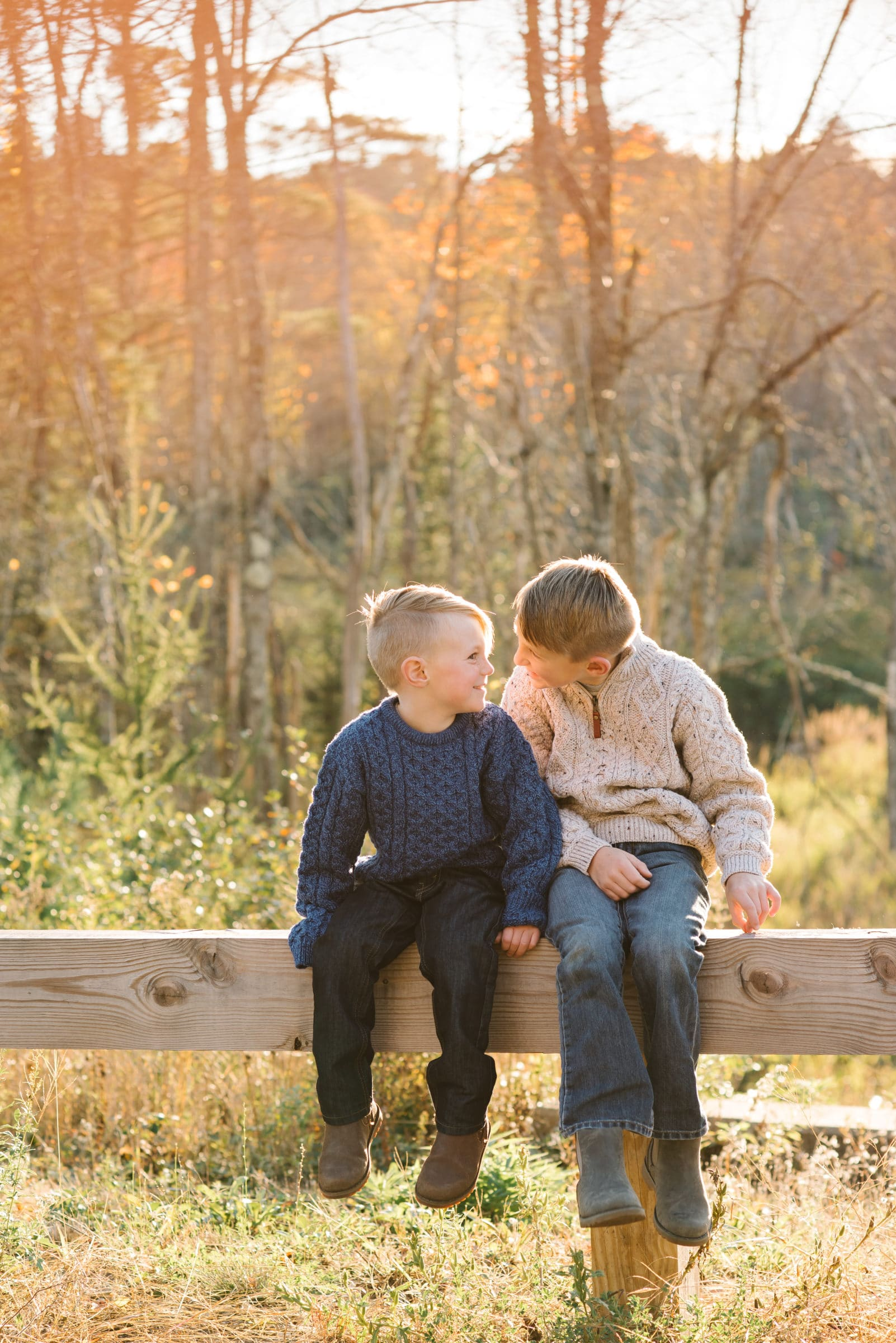 Gardner family session, brothers