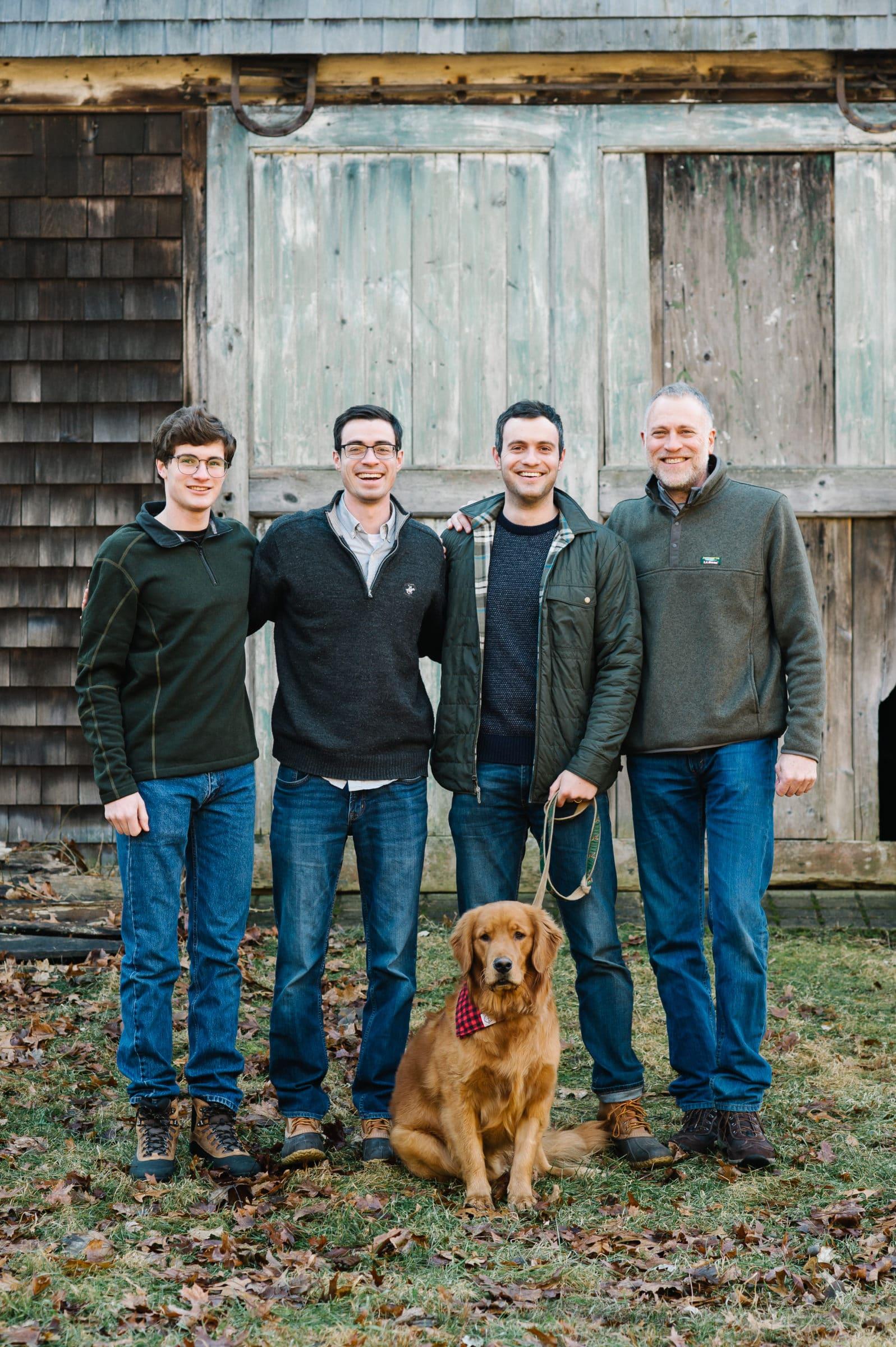 Minute Man National Park extended family session, Lexington