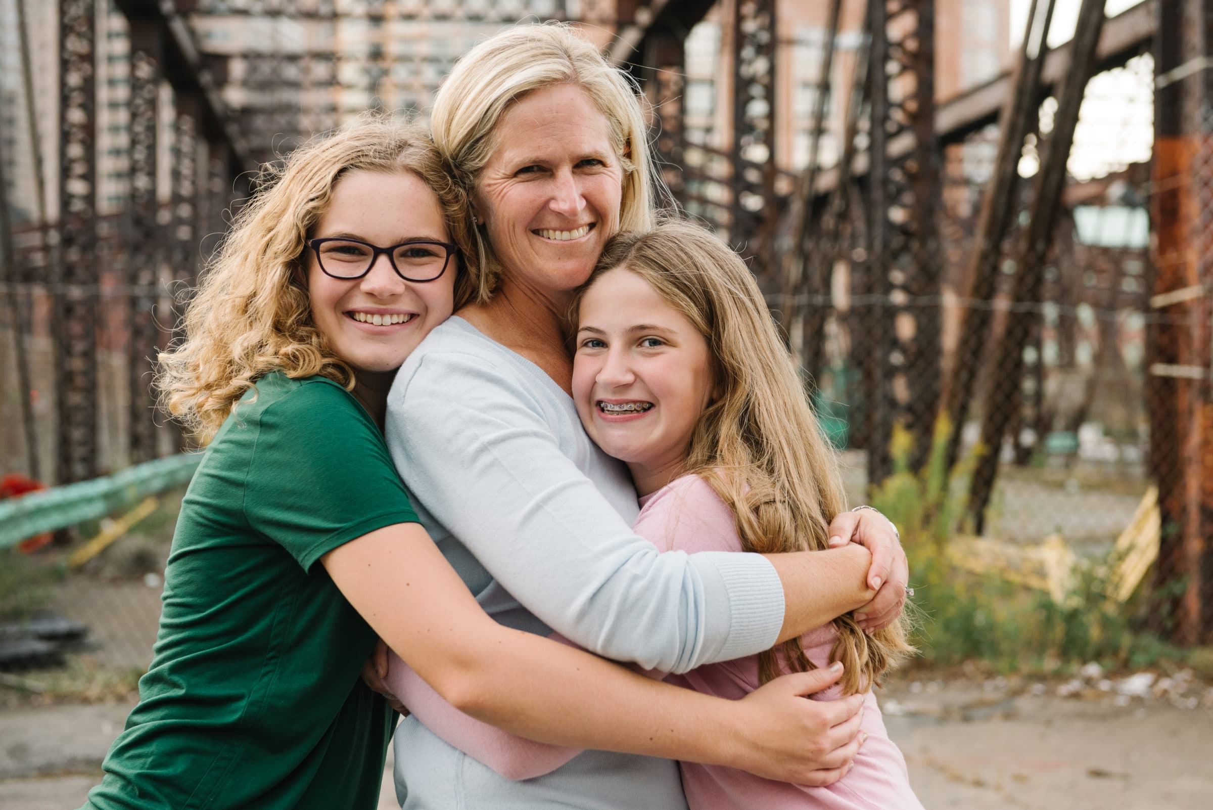 Boston Seaport family session