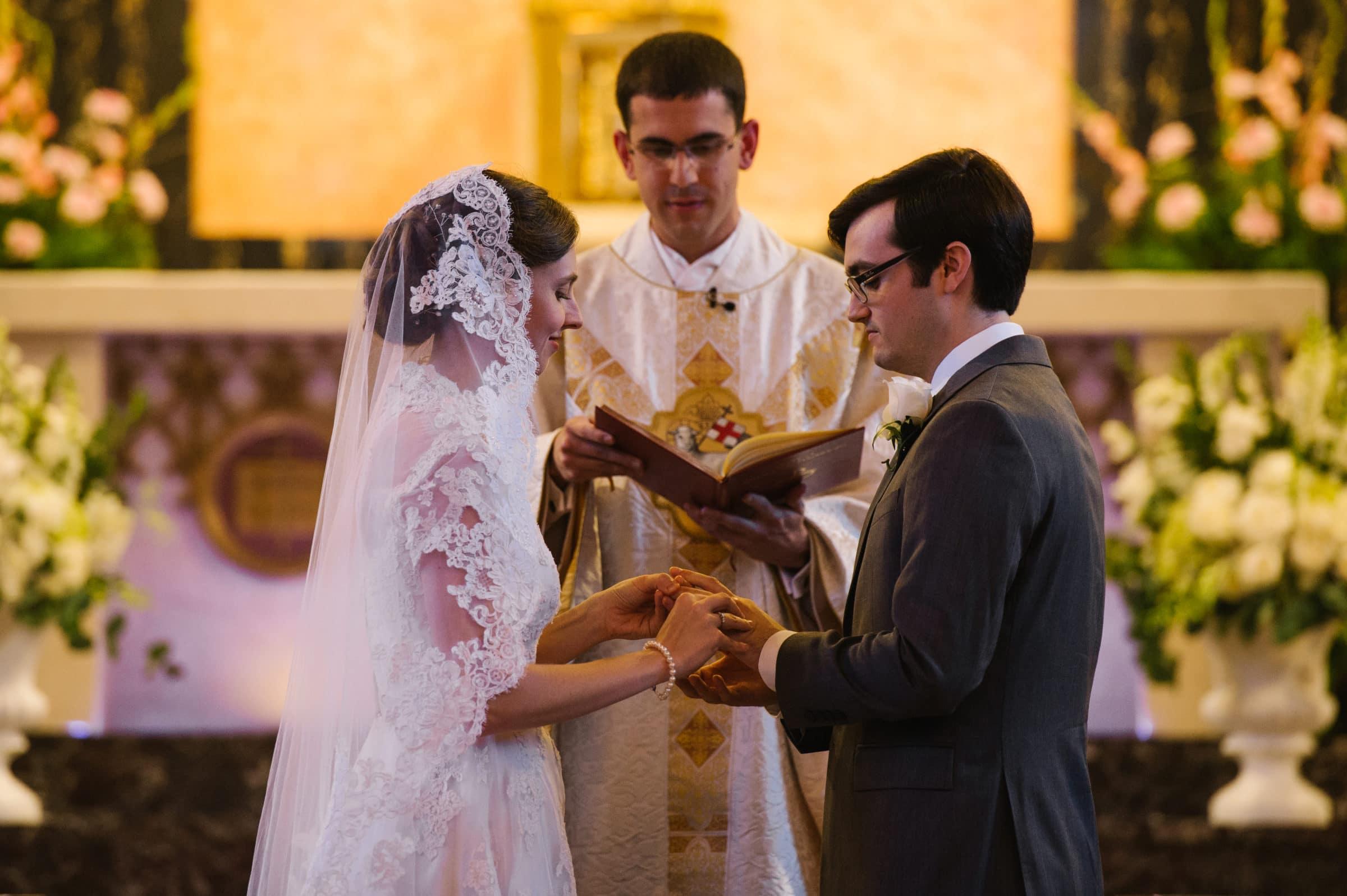 Princeton, New Jersey church wedding ceremony