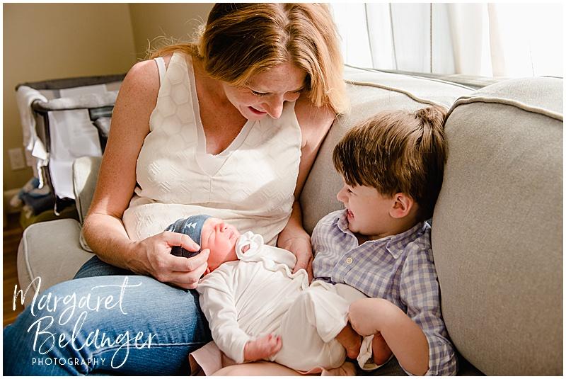 Medford MA at home Fresh 48 Newborn Session
